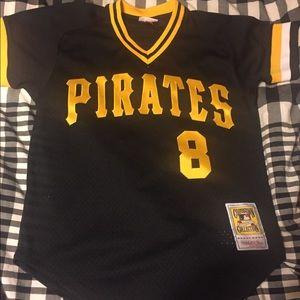 Mitchell and Ness Pirates Jersey